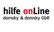 hilfe onLine domsky & domsky GbR Logo